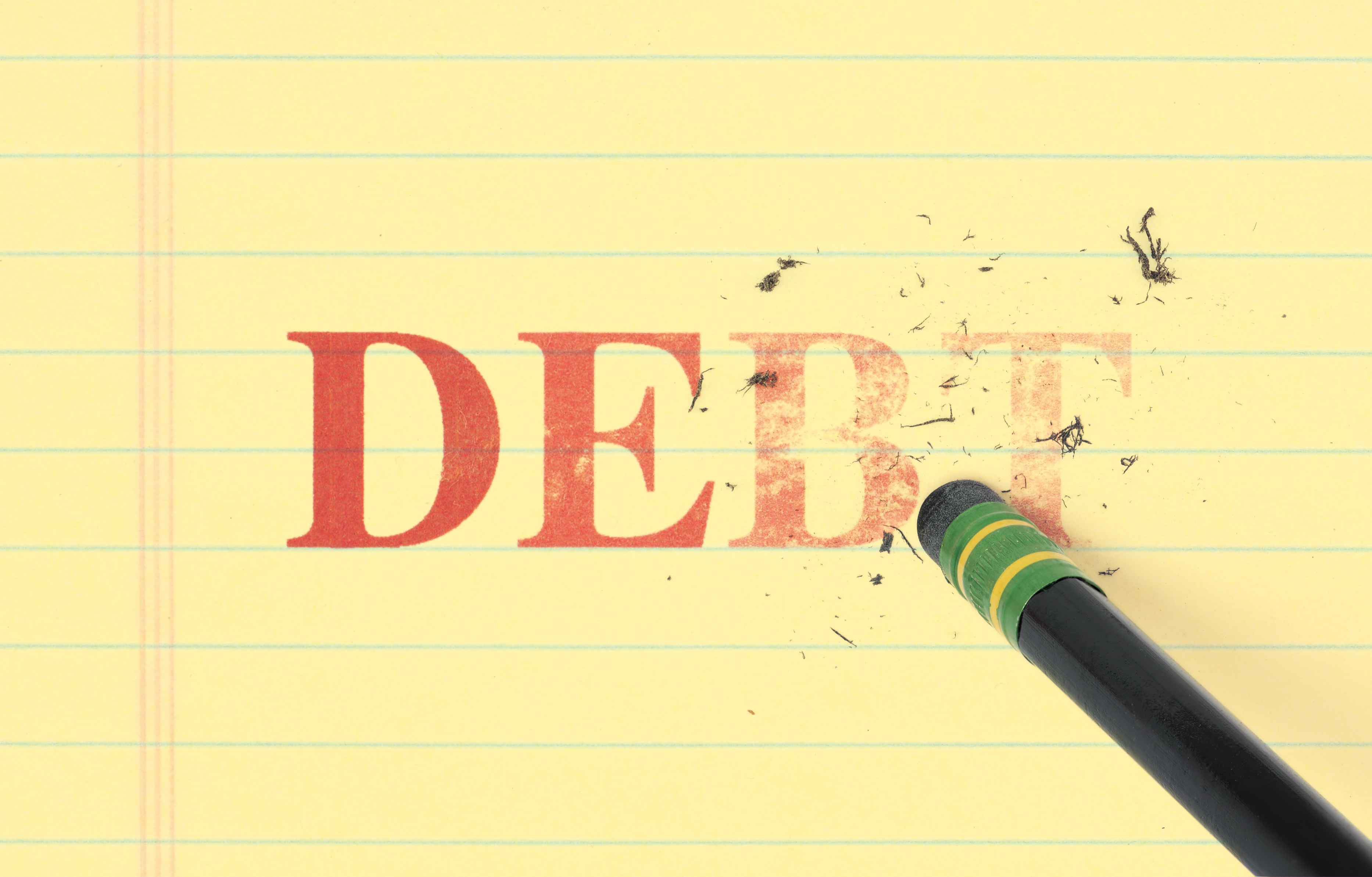 Erase and eliminate debt quickly
