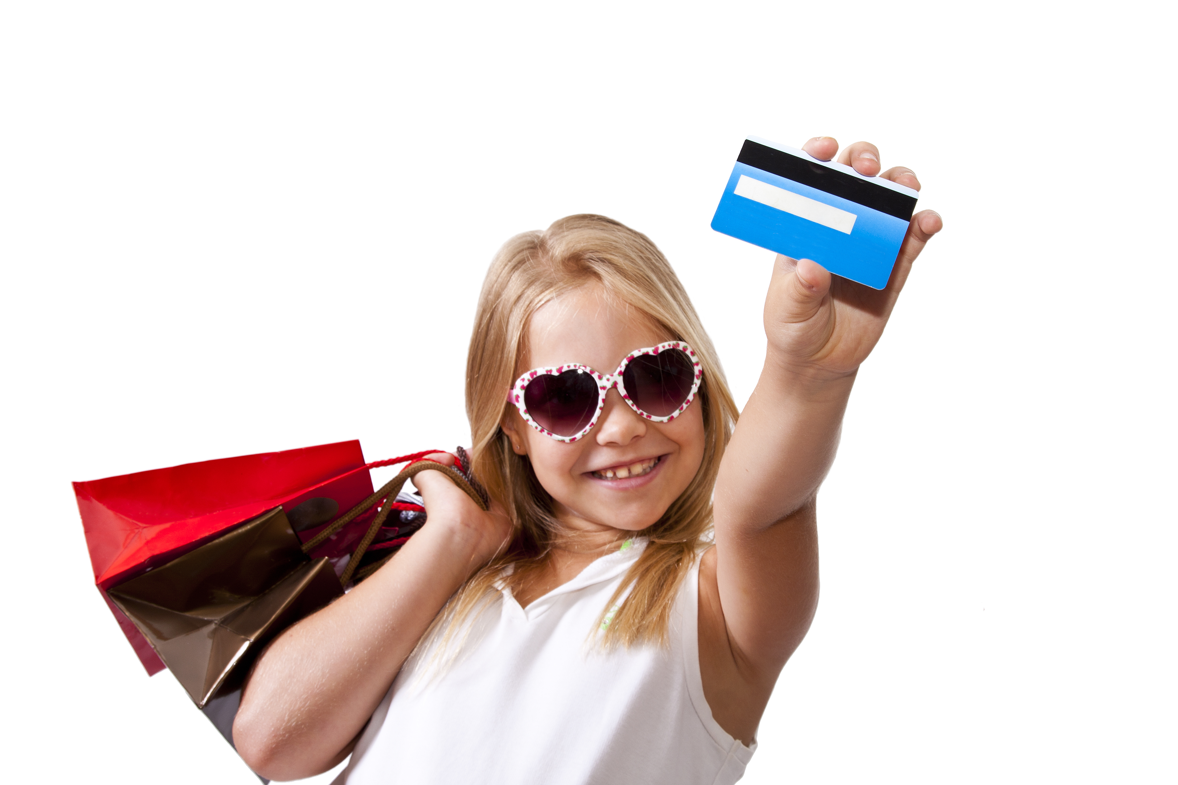 The thought of arming a child with a credit card sends chills down many a parent's spine. Yet, despite the fear of them draining family finances on childish things, giving kids cards emblazoned with their names has become a more common practice than it was just a few years ago.