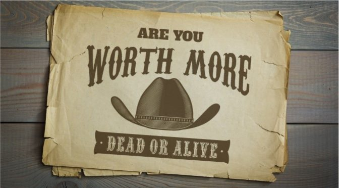 is it worth more dead or alive Share this rating title: more dead than alive (1969) 62 /10 want to share imdb's rating on your own site use the html below.