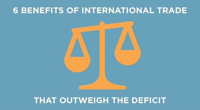 Benefits of International Trade That Outweigh the Deficit - Paradigm