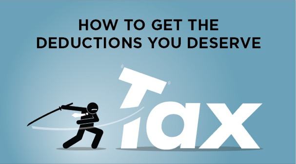 tax deductions, taxes, write-offs, deductions, tax breaks, work expenses, volunteering deductions